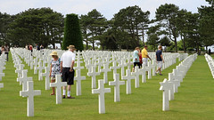 Amerikaanse begraafplaats (12) (Kok Vermeulen) Tags: frankrijk normandi vakantie