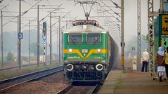The Green Goblin (Ankur) Tags: wag9 kanpur three phase traction indian railways ngc autofocus