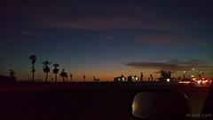 Venus just off PCH (Ms. Jen) Tags: california huntingtonbeach huntingtonstatebeach lumia lumia950 newland pch photobyjeniferhanen september september2016 venus clouds dusk msjencom palmtrees sky sunset twilight unitedstates