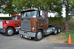 1979 Mack W Model Tractor (Trucks, Buses, & Trains by granitefan713) Tags: mack macktruck macktrucks showtruck classictruck antiquetruck trucktoberfest tractor trucktractor wmodel cruiseliner mackw mackcruiseliner sleper sleepertractor cabover coe
