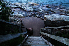 "In a New Light: Apostle Islands - Rachel, 15 - ""Staircase"""