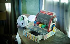 Abandoned Toys (ep_jhu) Tags: fisherprice urbex dirty abandoned pos toys 7d yellowdog exploring pennsylvania worthington pa canon village mouse abandonado unitedstates us