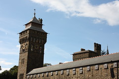 Cardiff Castle Clocktower (infomotiveUK) Tags: cardiff castle city clocktower wales roald dahl unexpected
