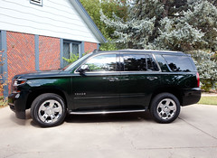 2016 Chevrolet Tahoe LTZ 4X4 SUV (coconv) Tags: car cars vintage auto automobile vehicles vehicle autos photo photos photograph photographs automobiles antique picture pictures image images collectible old collectors classic blart 2016 chevrolet tahoe ltz 4x4 suv 16 chevy envy green tintcoat
