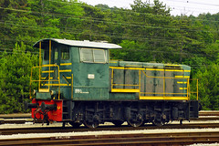 Trenitalia standard Class 245 0-6-0 diesel loco No. 245.6036 at Monfalcone on 3 June 2012 (A Scotson) Tags: italy fs monfalcone greco italianrailways serfer class235 industrialloco