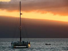 Sunset over Lanai (wbirt1) Tags: sunset hawaii maui lanai billbirtwhistle