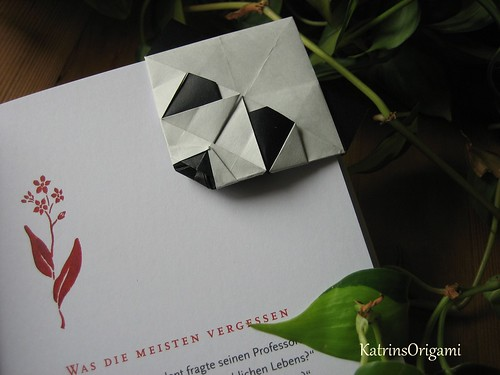 Flickriver Photoset Origami Bookmark By KatrinsOrigami