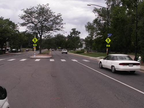 Photo - Canyon Boulevard and 21st Street Pedestrian Crossing (Completed)