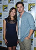 Jay Ryan and Kristin Kreuk San Diego Comic-Con 2012