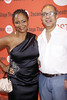 Tonya Pinkins and George C. Wolfe New York premiere of 'Dogfight' at the Second Stage Theatre - Arrivals. New York City, USA
