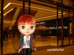 Aisha na inauguração do shopping  JK Iguatemi!!!