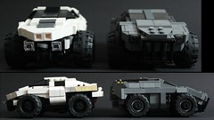 LRV  vs ARV 2 (Andreas) Tags: car lego military eu darkwater lrv arv thepurge legoarmoredcar thepurgevehicles