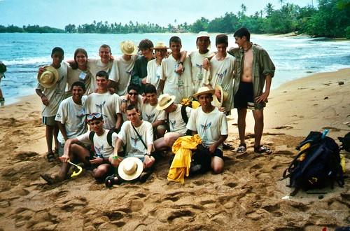 035 - Nombre de Dios. Playa del campamento (mar Caribe)