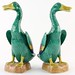 170. Pair of Chinese Export Porcelain Geese