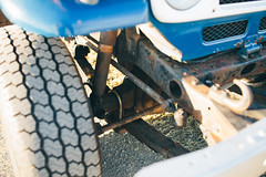 Toyota Landcruiser J40 (dave.see) Tags: old blue 2 classic film truck 35mm canon offroad 4x4 mark 14 85mm australia pickup ute ii toyota mk2 5d outback 18 landcruiser mk fj40 samyang 5d2 hj40 undistructable