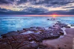 San Diego (Eddie 11uisma) Tags: california sunset seascape landscape golden san diego cliffs hour starburst