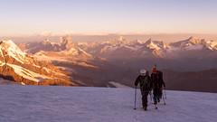 ASCENT TO MONTE ROSA (David Ruiz Luna) Tags: switzerland zermatt monterosa matterhorn valais ascent cervino rememberthatmomentlevel1 rememberthatmomentlevel2 rememberthatmomentlevel3