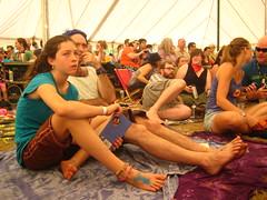 Attentive Crowd (Flare) Tags: festival hillside musicfestival hillsidefestival guelphlake hillside2012