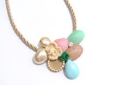 (Sonho de Moça) Tags: moda craft bijuteria colar acessórios elo7 colarartesanal sonhodemoça maxicolar
