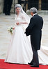 Catherine Middleton and her father Michael Middleton The Wedding of Prince William and Catherine Middleton - Westminster Abbey London, England