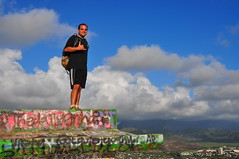 Smiling Despite the Early Start (XJCreations) Tags: sunrise hawaii oahu hiking lanikai bunkers pillboxes kawiaridge