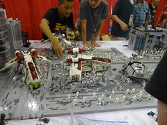 David's Crashed Gunship (Just Bricks Studio) Tags: brick studio lego bricks fair just legoboy brickfair
