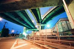Hokko Junction (revisited) - Osaka (miho's dad) Tags: osaka monolith bessal superwideheliar4515 kodakprofotoxl100