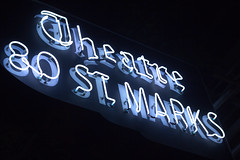 Theatre 80 St Marks, Still Glowing Strong (maisa_nyc) Tags: nyc newyork sign neon stmarksplace greenwichvillage theatre80stmarks