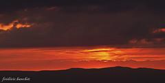 21h07 (frdric banchet photographe) Tags: nature soleil nuage paysage contrejour montagnes rhonealpes parcdupilat