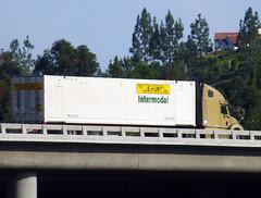 J.B. Hunt Intermodal (Photo Nut 2011) Tags: california bridge truck sandiego freeway ranchobernardo jbhunt