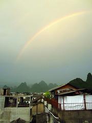 Rainbow over Xingping, Guangxi (peterrioIve) Tags: liriver  xingping