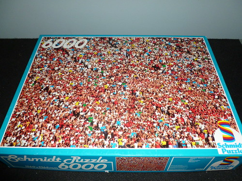 6000 piece puzzle what a crowd by schmidt germany a photo on