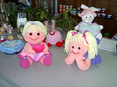 Dolls (Shelley's Crochet Olé) Tags: crochetdolls shelleyscrochetole