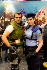 Chris Redfield and Jill Valentine (The Man Of Stills) Tags: chris comic cosplay jill valentine comiccon comicon con 2012 sdcc residentevil redfield sandiegocomiccon sdcc2012