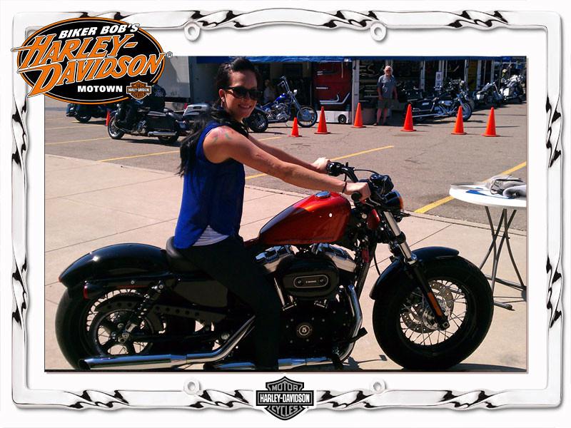 the world's best photosbiker bob harley-davidson motown