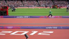 saudi arabia female athlete Sarah Attar 800m heats (gorgeoux) Tags: uk woman london sarah female athletics stadium hijab covered saudi arabia olympic olympics athlete 2012 london2012 attar