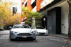 Southbank (Tom | Fraser) Tags: melbourne southbank v8vantage worldcars tomfraser vantages dl599 vdl599 ynaaston