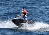 Simon Cowell gets ready for a jet ski ride during a holiday in St Tropez St Tropez, France