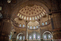 The Blue Mosque (fuad_kamal) Tags: trip travel blue turkey muslim islam visit mosque mina saudi arabia pilgrimage masjid hajj nur