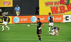 (goatling) Tags: newyork milan football stadium soccer acmilan yankeestadium calcio realmadrid rossoneri worldfootballchallenge2012