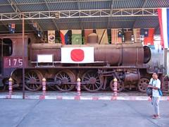 NBL 175 (Barang Shkoot) Tags: japan museum lady thailand glasgow thai british siam srt steamlocomotive kwai 460 rsr jeath kwae rotfai pooying northbritish metregauge