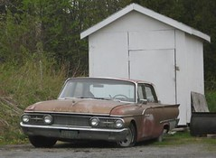 beat-up 61 Meteor (Kennuth) Tags: canada canadian meteor 1961 montcalm