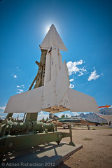 Big Rockety Missily Thing (Ady_rian) Tags: usa america technology military whitesands roadtrip traveling bombs missiles v2 travelphotography whitesandsmissilerange missilerange adyrian