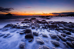() Tags: morning light sea sky sunlight color beach sunrise landscape nikon natural taiwan  taipei   d4            nikond4