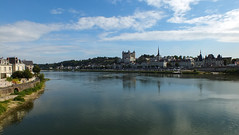 Saumur : la Loire (K r y s) Tags: summer france geotagged day fra 2012 saumur paysdelaloire bagneux pwpartlycloudy