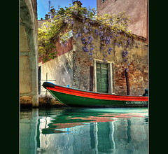 (PhotoArt Images) Tags: venice italy water boat explore wisteria photoartimages