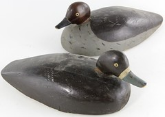 3025. (2) Antique Duck Decoys