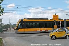 Araújo (ernstkers) Tags: streetcar tram tramvia tranvia trolley flexityswift lightrail metrodoporto porto portugal strasenbahn matosinhos araújo leçadobalio mplinhac bonde spårvagn