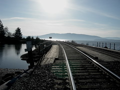 "Bellingham Bay Railway Tracks • <a style=""font-size:0.8em;"" href=""http://www.flickr.com/photos/59137086@N08/7827403260/"" target=""_blank"">View on Flickr</a>"