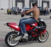 turn over for me... (revthenuts) Tags: shirtless guy teen motorcycle biker